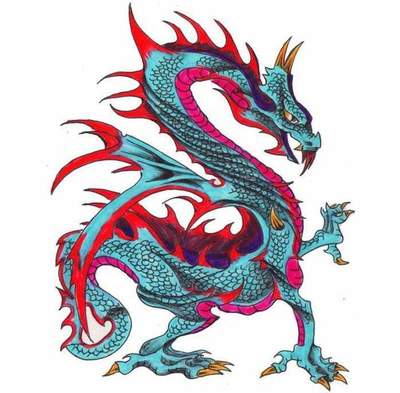 Dragon: Vrednost tatoo modelov in skic. Kako izbrati zmaj tatoo?